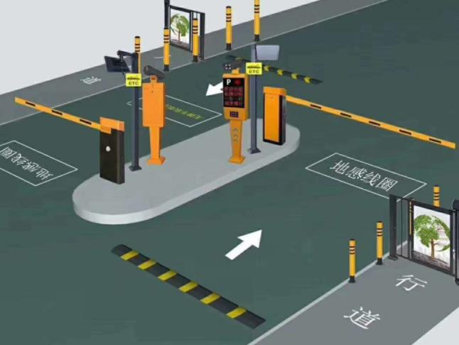 停车场管理系统安装系统