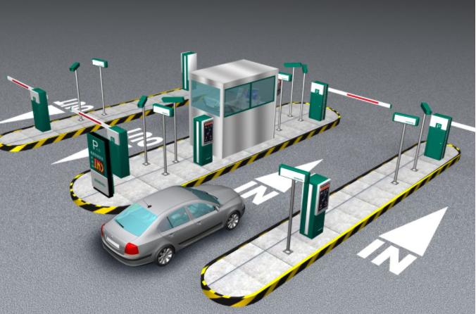 智能停车场的设备